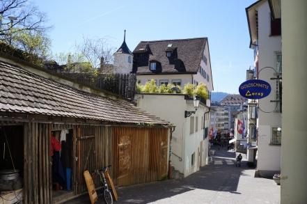Altstadtgässchen in Zürich
