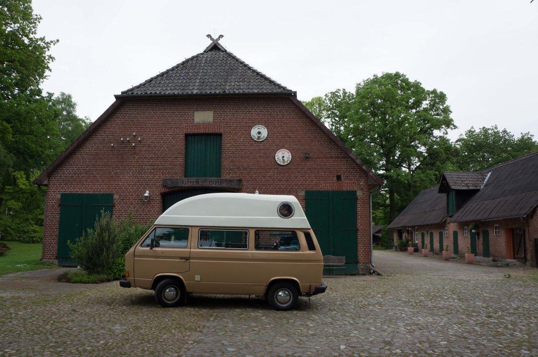 Erster Stopp in der Lüneburger Heide