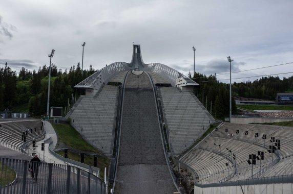 Beeindruckende Arena