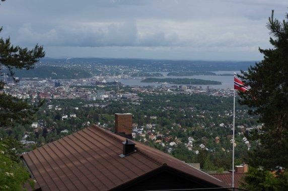 Toller Blick über Oslo