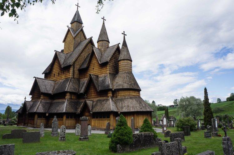 Größte Stabkirche Norwegens in Heddal