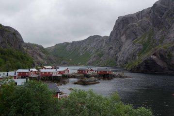 Das alte Fischerdorf Nusfjord